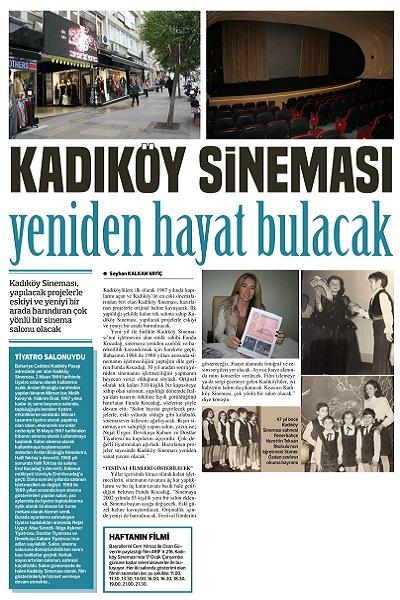 Kadıköy Gazetesi - 921. Sayı 12-18 Ocak 2018